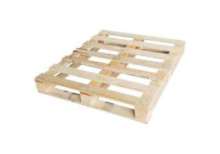 Blokpallet omlopend halfzwaar 100x120cm, nieuw