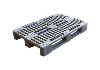 Kunststof H1 pallet 80x120cm, gebruikt