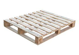 Blokpallet omlopend zwaar 100x120cm nieuw