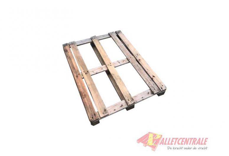 Blokpallet 77 x 120cm gebruikt bovenzijde