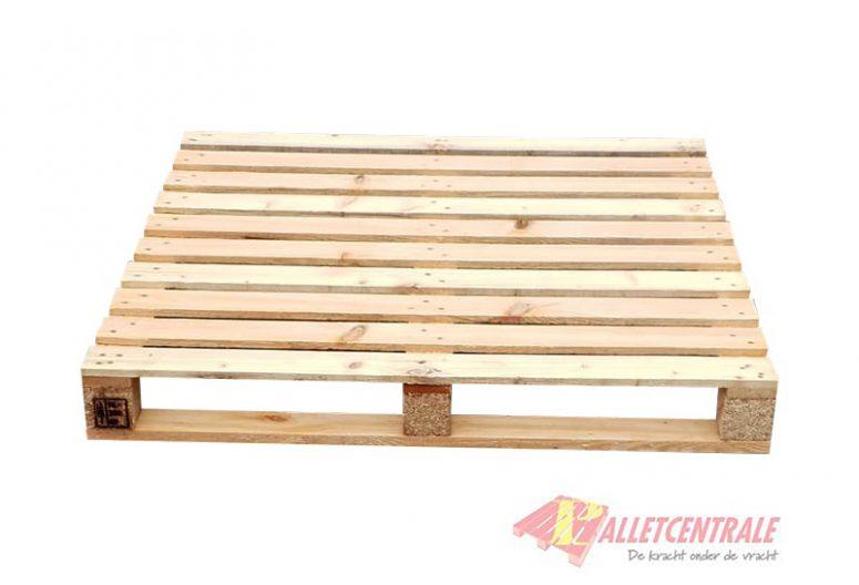 Blokpallet 108 x 108cm open nieuw HT bovenzijde