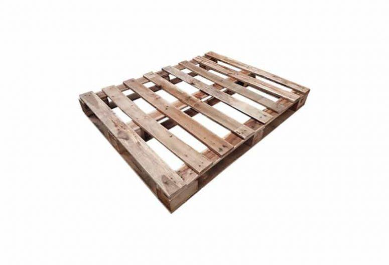 Blokpallet omlopend-halfzwaar 95x123cm gebruikt