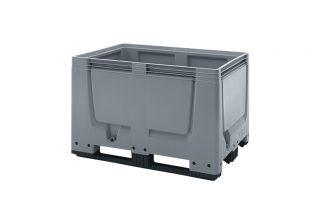 palletbox 80x120cm 3 sledes