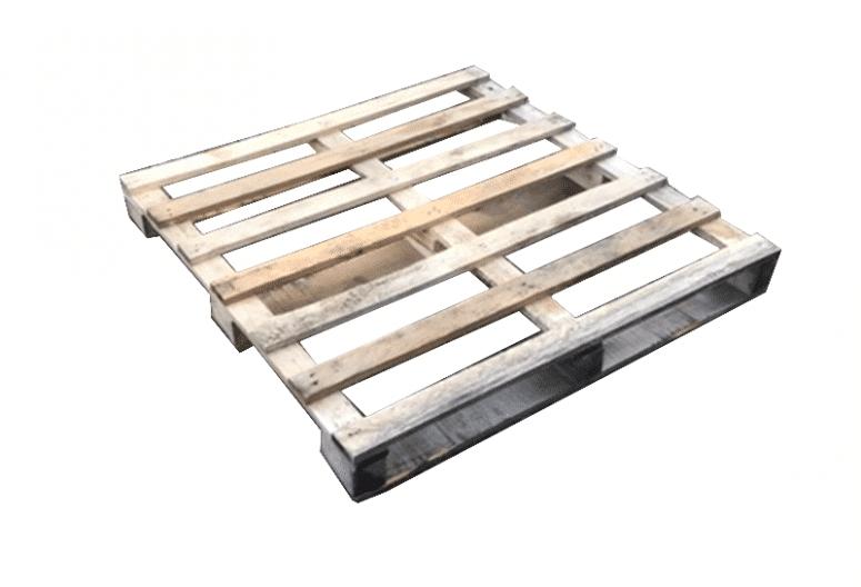 Blokpallet mix partij 115x115cm, gebruikt