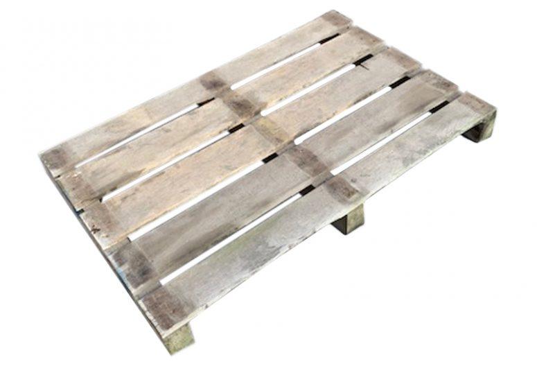 Balkpallet zwaar 80x120cm, gebruikt -