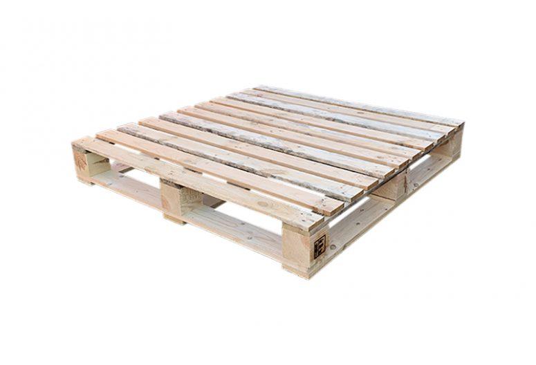 Blokpallet kruisdek zwaar 110x110cm