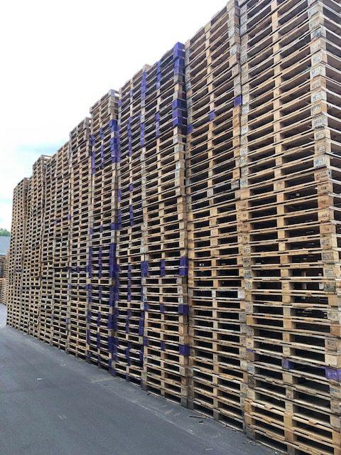 Blokpallet omloop 105x120cm