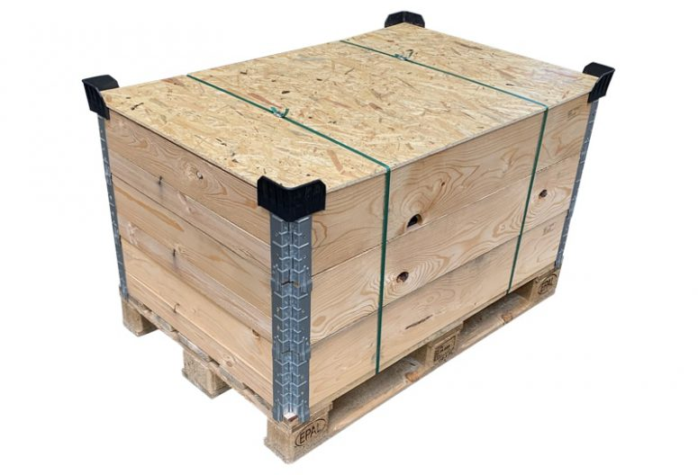 Palletranden kist