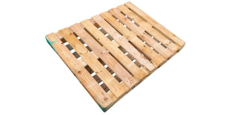 Dubbeldekse blokpallet 100 x 120