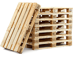 Euro pallets stapel