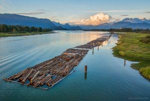 houttransport in canada