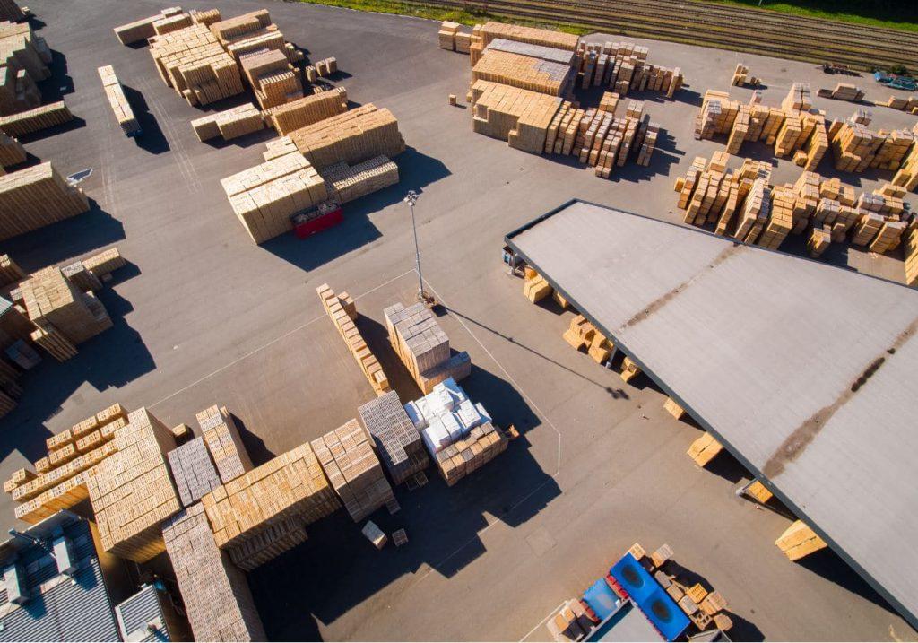 Palletcentrale productie