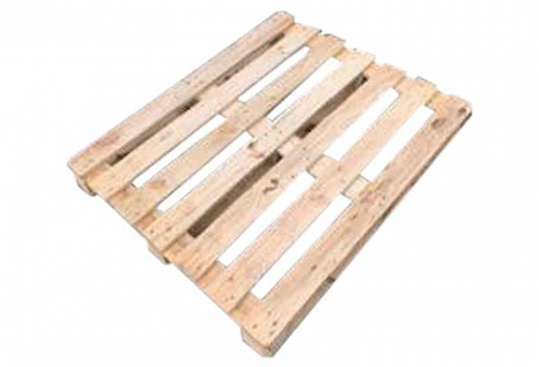 Blokpallet open halfzwaar 90x110cm, gebruikt