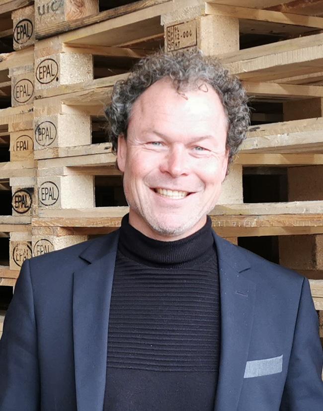 Frank Bennemeer Commercieel directeur Palletcentrale