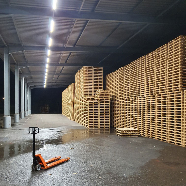LED Verlicht palletcentrale productie 5