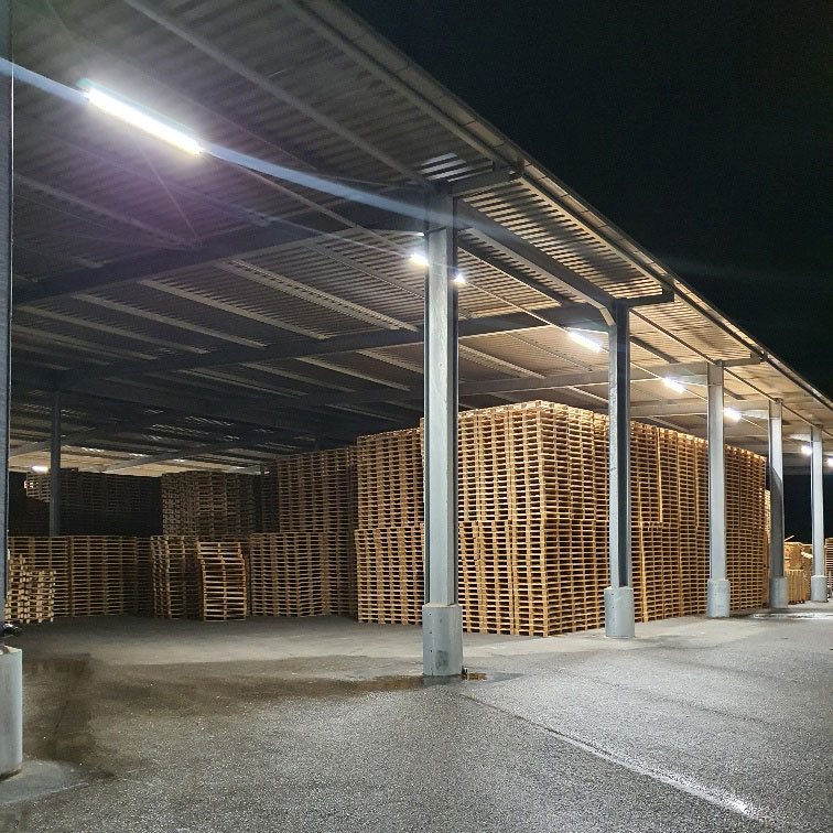 LED Verlicht palletcentrale productie 4