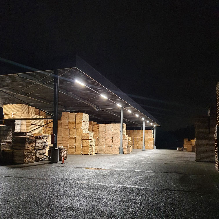 LED Verlicht palletcentrale productie 1