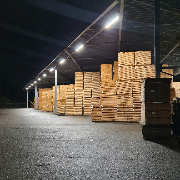LED Verlicht palletcentrale productie 6