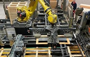 Pallet productielijn