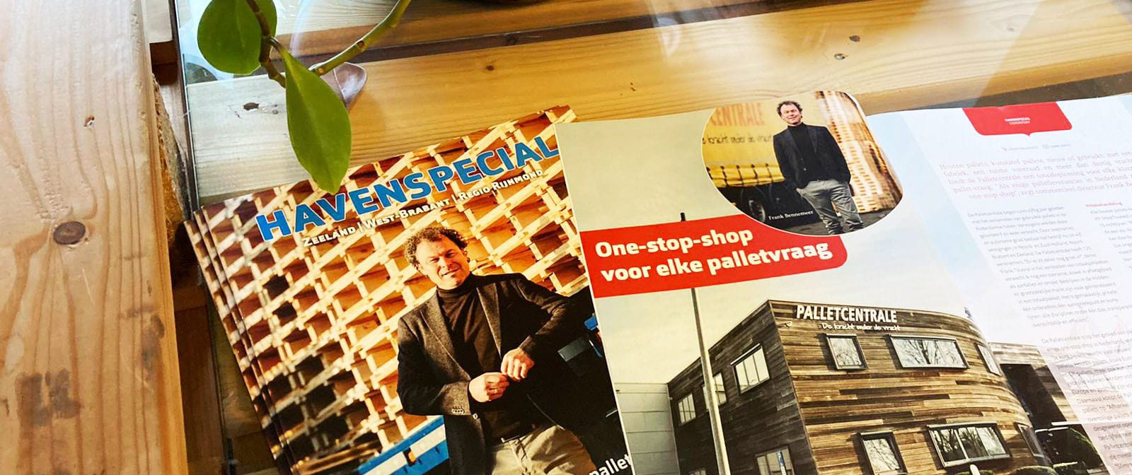 magazine One stop shop pallets