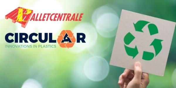 flat Palletcentrale wordt aandeelhouder van Circular Plastics