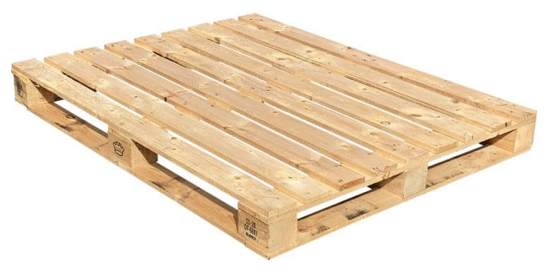 Blokpallet 112x141cm bovenzijde